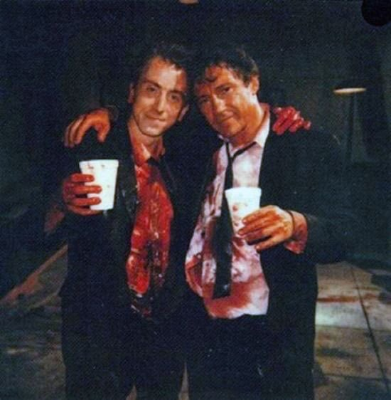 Harvey Keitel and Tim Roth at an event for Reservoir Dogs (1992)