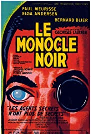 The Black Monocle Poster