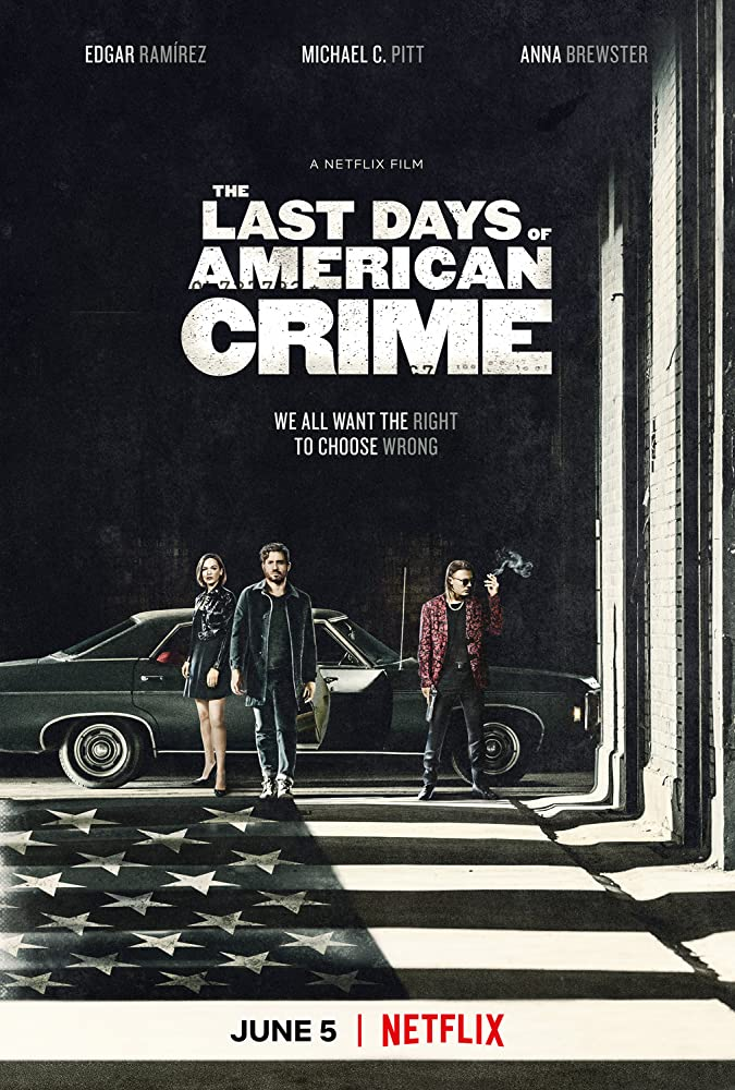 The Last Days of American Crime 2020 English 720p HDRip Esubs DL