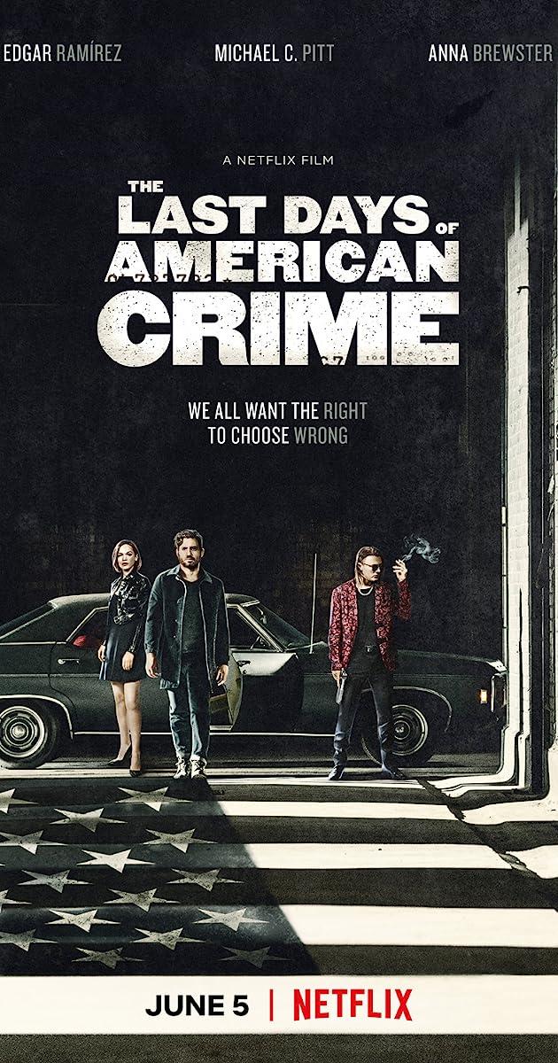 The Last Days Of American Crime 2020 Imdb