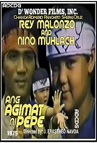 Rey Malonzo, Niño Muhlach, Panchito, Chanda Romero, and Sheryl Cruz in Ang agimat ni Pepe (1979)