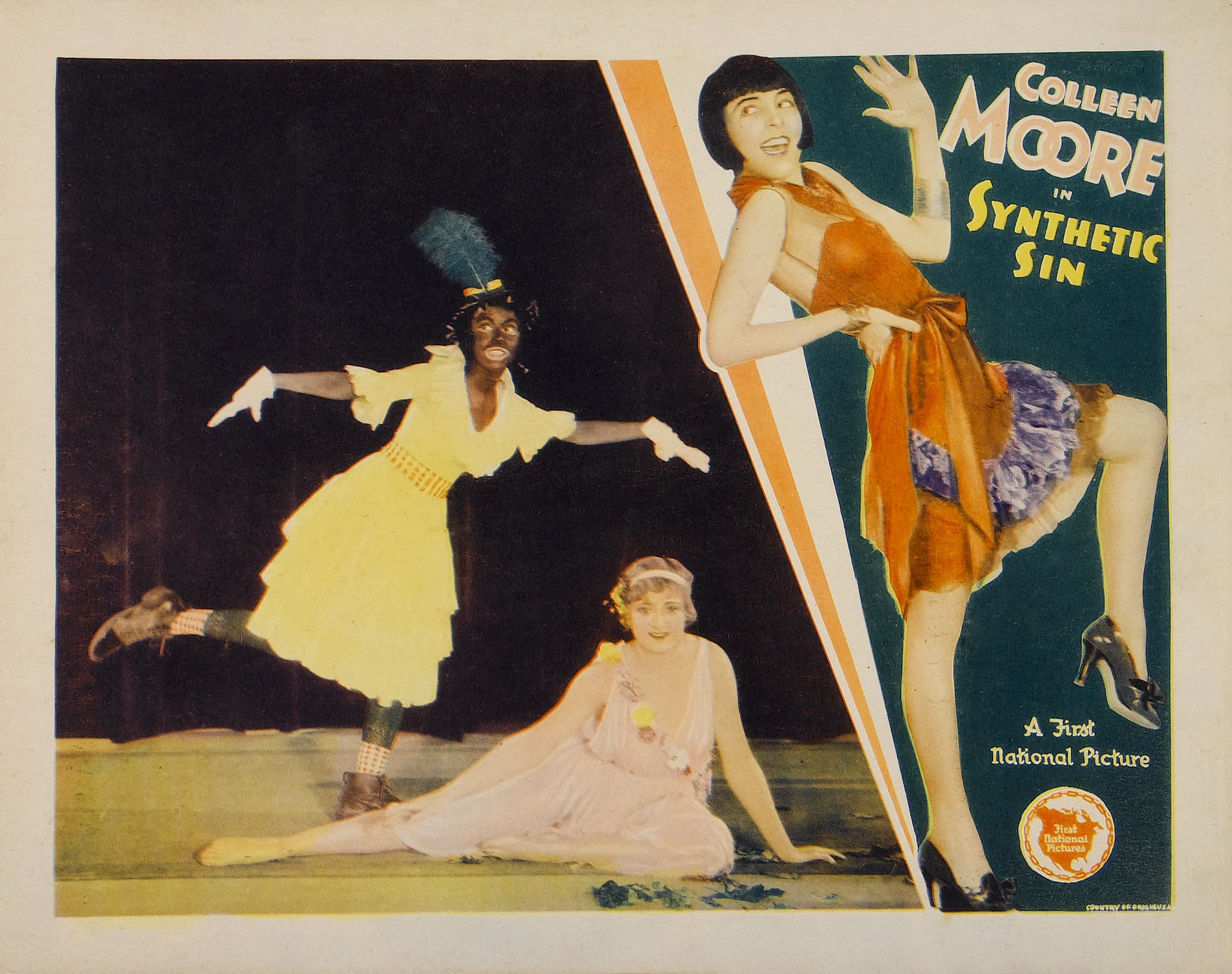 Gertrude Howard, Kathryn McGuire, and Colleen Moore in Synthetic Sin (1929)