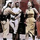 Burt Lancaster, Mari Blanchard, and Nick Cravat in Ten Tall Men (1951)