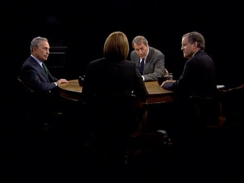 Michael Bloomberg and Charlie Rose in Charlie Rose (1991)