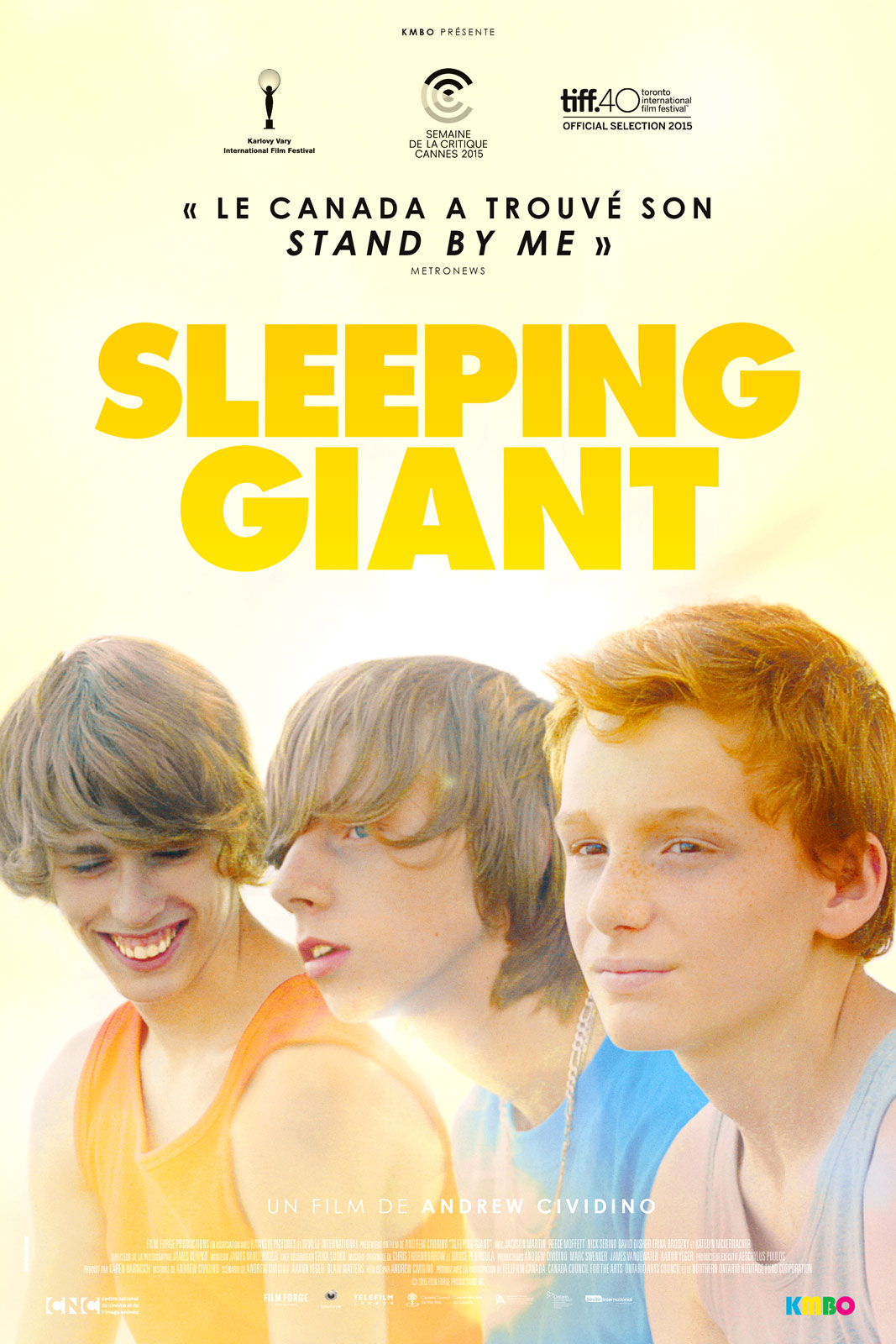 Jackson Martin, Reece Moffett, and Nick Serino in Sleeping Giant (2015)
