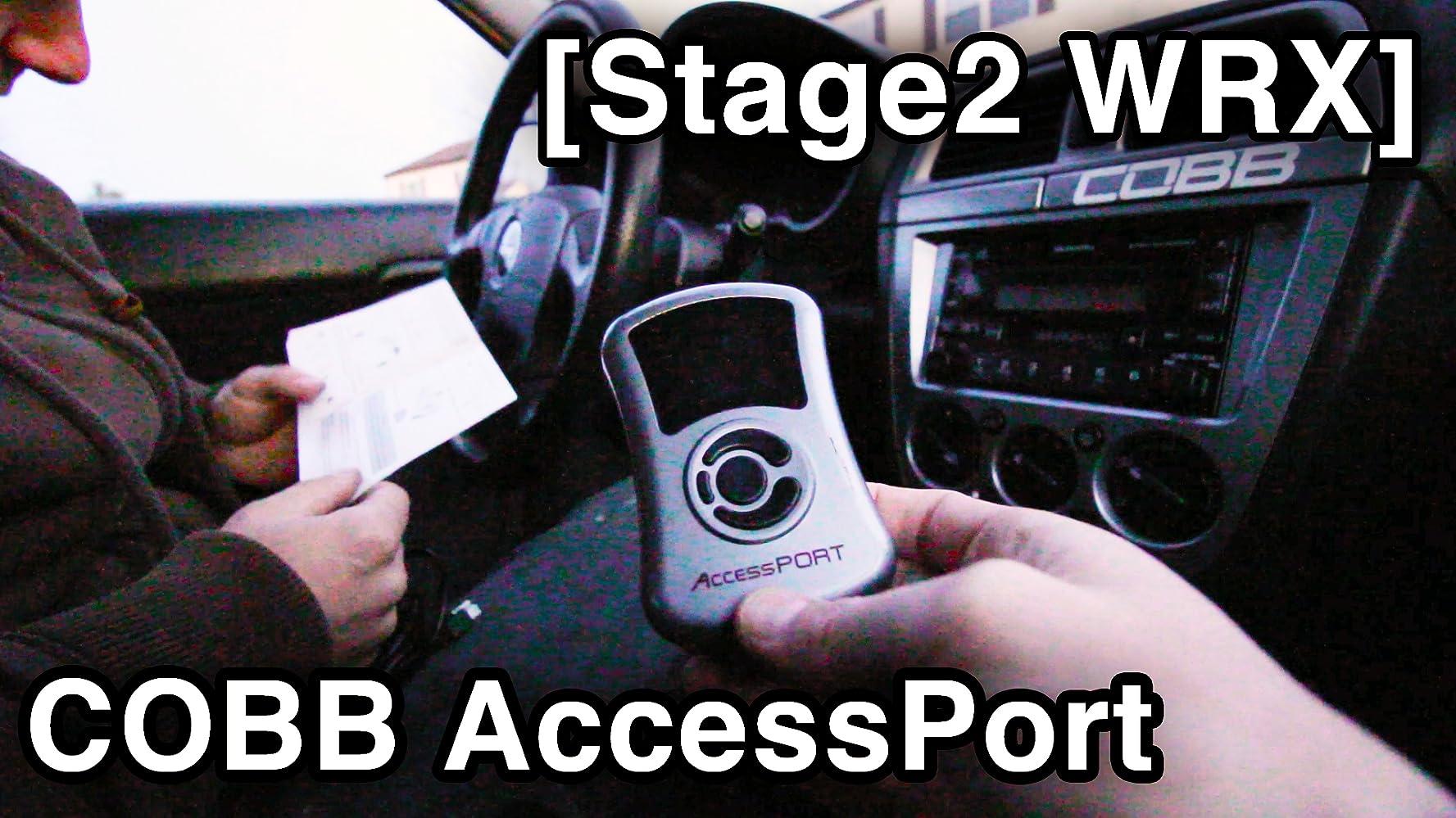 COBB AccessPort Install - Tune & Test Drive - Stage2 Subaru