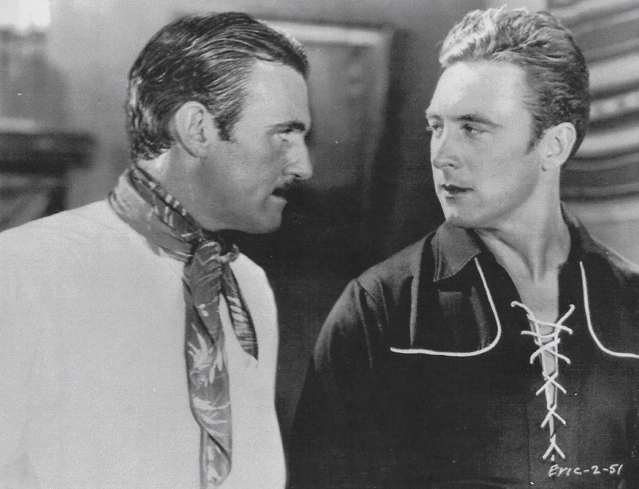 Walter McGrail and George O'Brien in The Lone Star Ranger (1930)