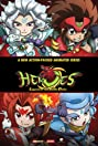Heroes: Legend of the Battle Disks (2015) Poster