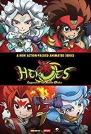 Heroes: Legend of the Battle Disks Poster