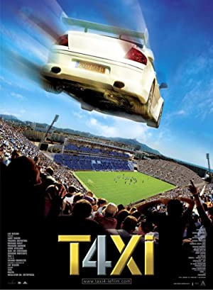 Taxi 4 (2007): แท็กซี่ ซิ่งระเบิด บ้าระห่ำ ภาค 4