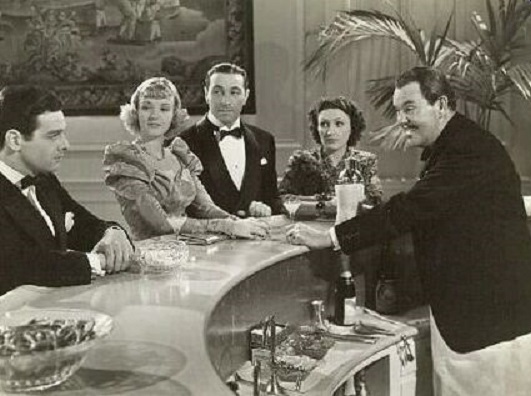 Ricardo Cortez, Louise Henry, Kay Linaker, Robert Lowery, and Sidney Toler in Charlie Chan in Reno (1939)