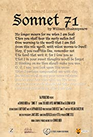 Sonnet 71 Poster
