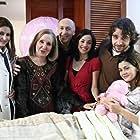 Anna-Maria Papaharalambous, Karmen Rouggeri, and Fanis Mouratidis in Baba min treheis (2007)