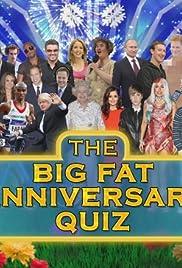 The Big Fat Anniversary Quiz Poster