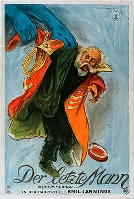 F.W. Murnau and Emil Jannings in Der letzte Mann (1924)