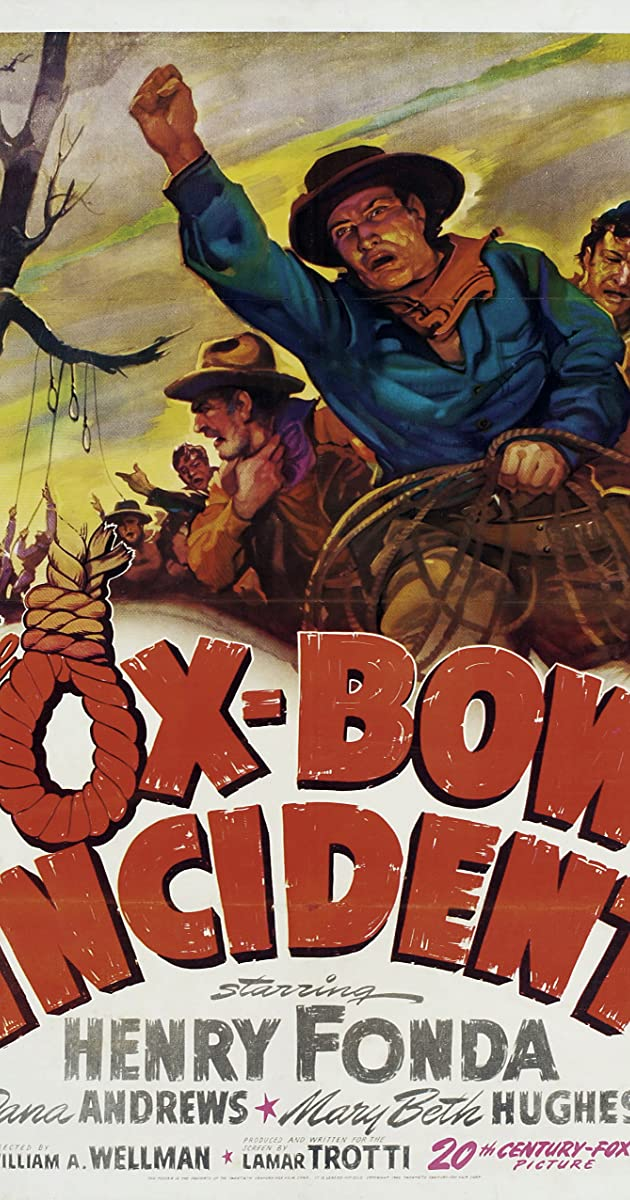 Subtitle of The Ox-Bow Incident