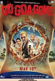 Kunal Khemu, Saif Ali Khan, Vir Das, and Anand Tiwari in Go Goa Gone (2013)