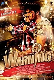 Warning Poster