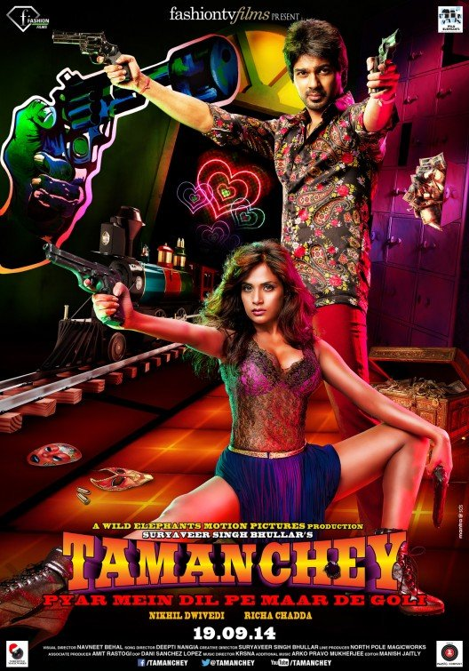 Tamanchey: Pyar Mein Dil Pe Maar De Goli (2014) Hindi 720p HDRip x264 1GB Download
