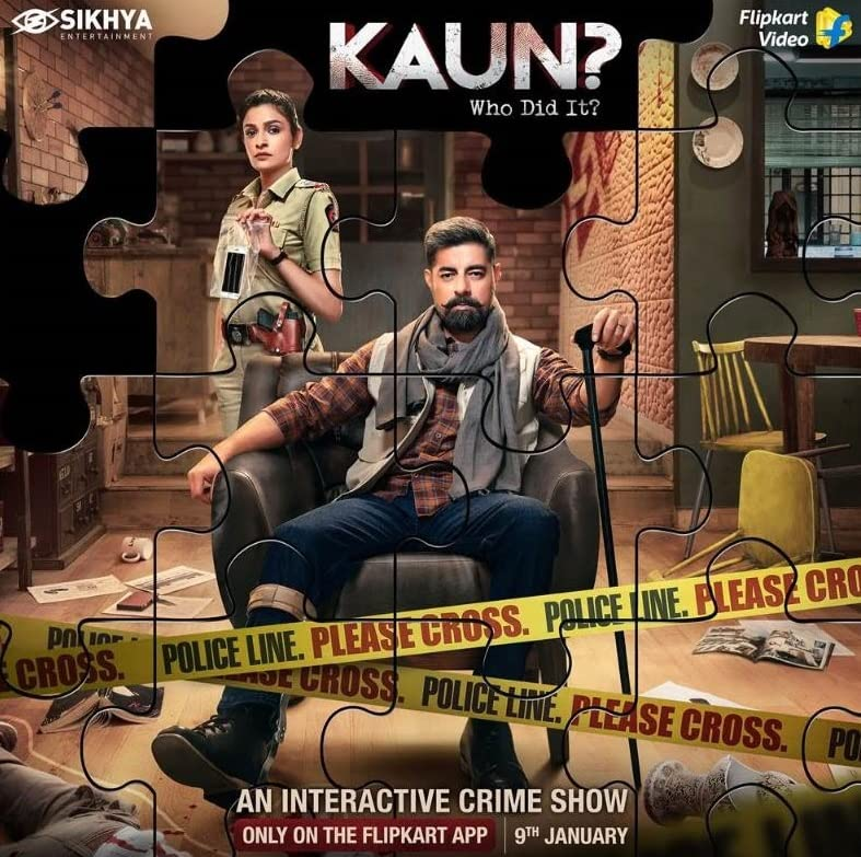 Kaun? Who Did it? (2021) Hindi Flipkart WEB-DL E01 x264 AAC