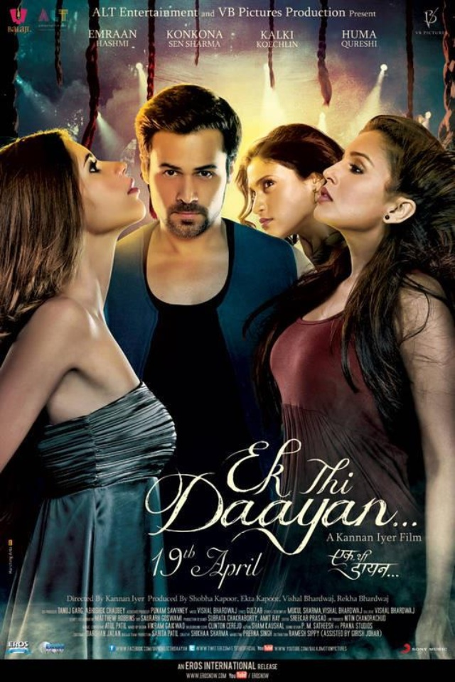 Ek Thi Daayan 2013 Hindi 400MB HDRip 480p ESubs Download