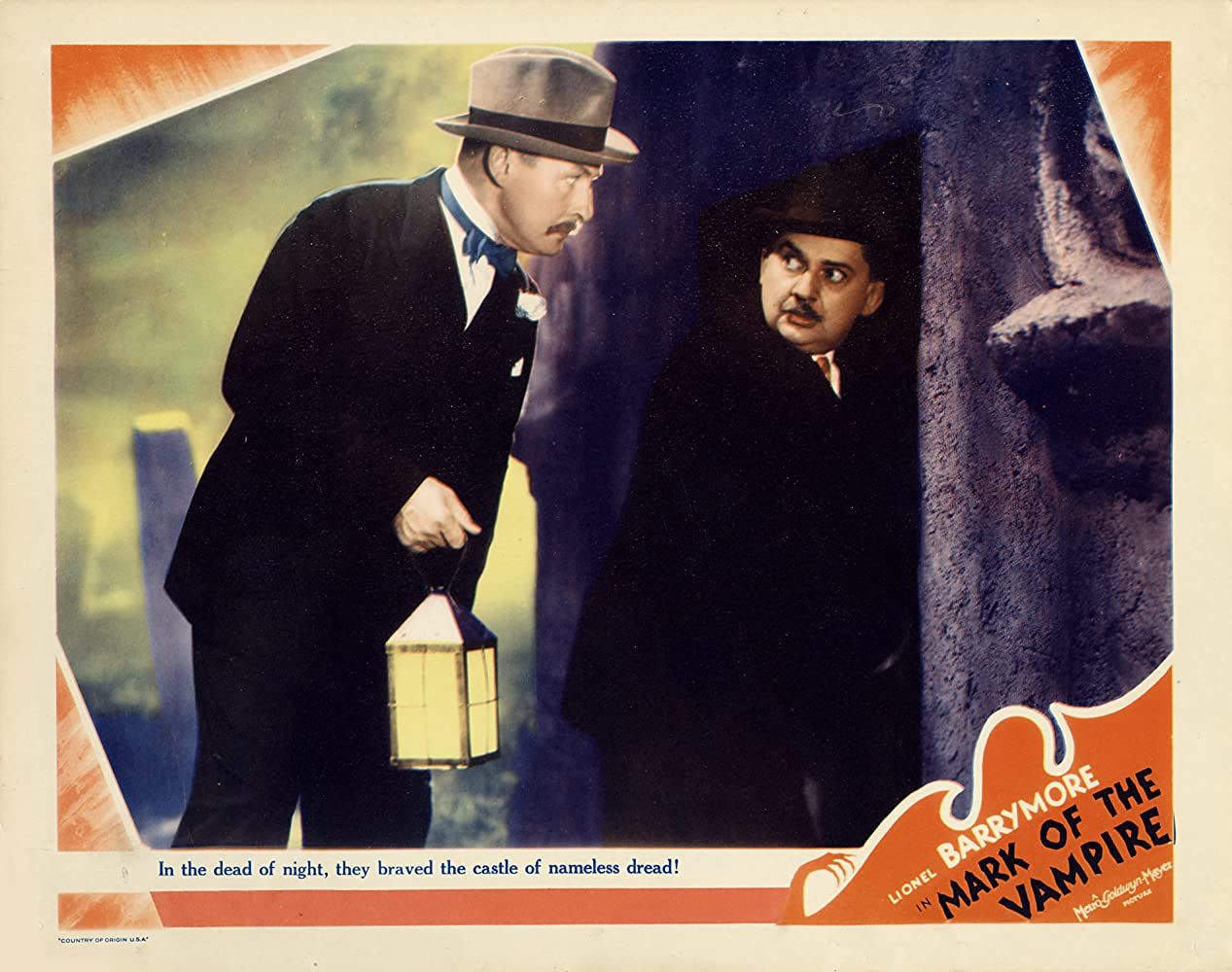 Lionel Atwill and Jean Hersholt in Mark of the Vampire (1935)