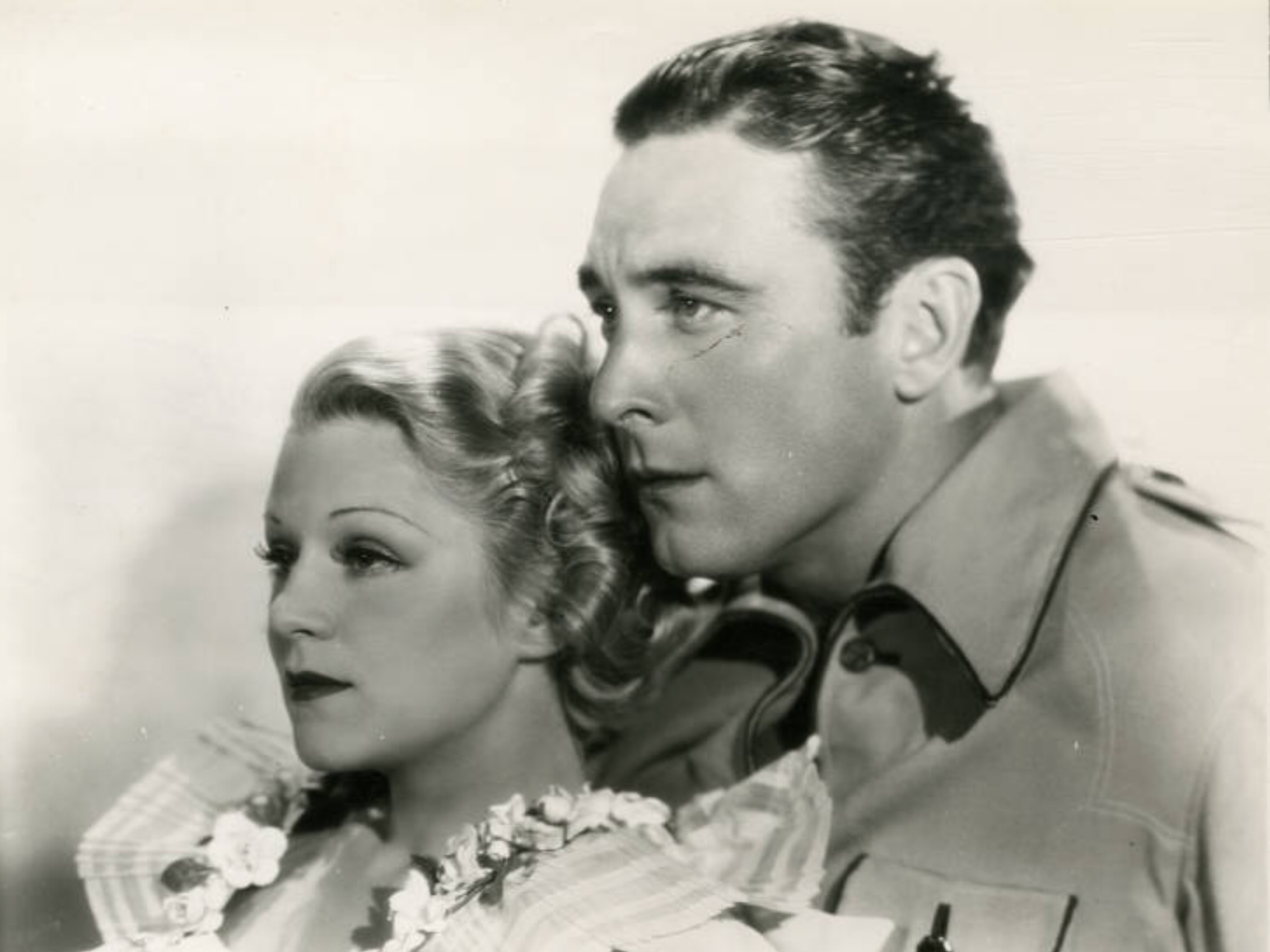 George O'Brien and Claire Trevor in The Last Trail (1933)