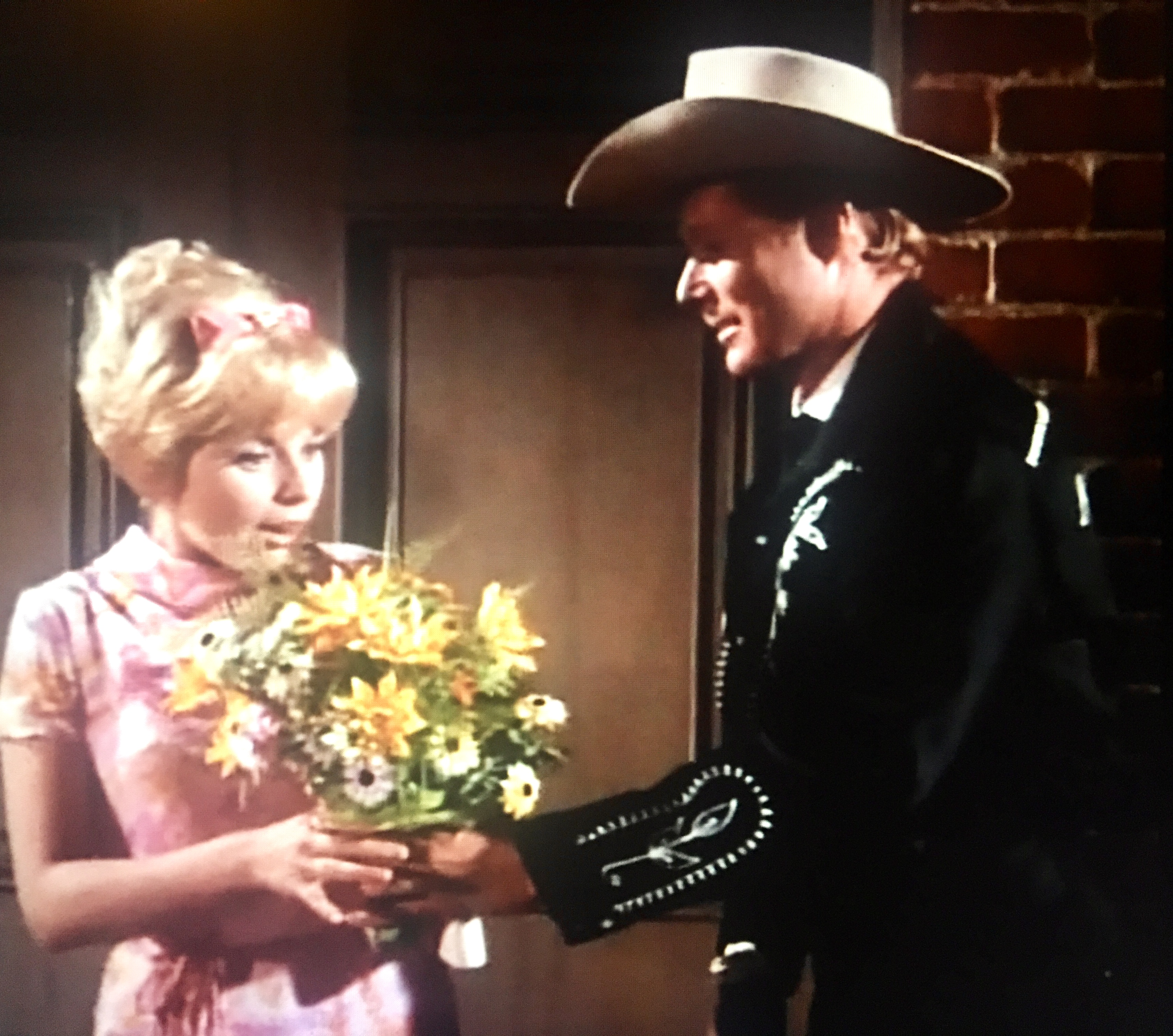 Janis Hansen and John Smith in The Rounders (1966)