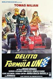 Delitto in Formula Uno Poster