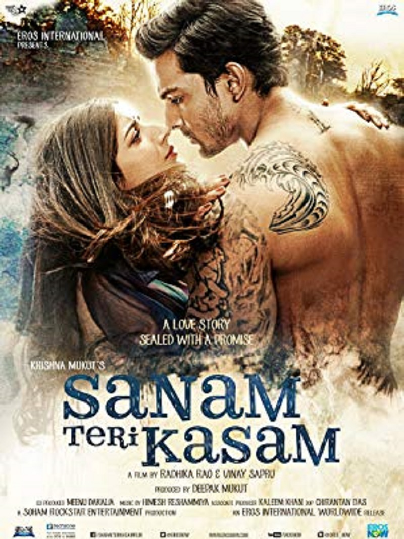 Image result for sanam teri kasam poster