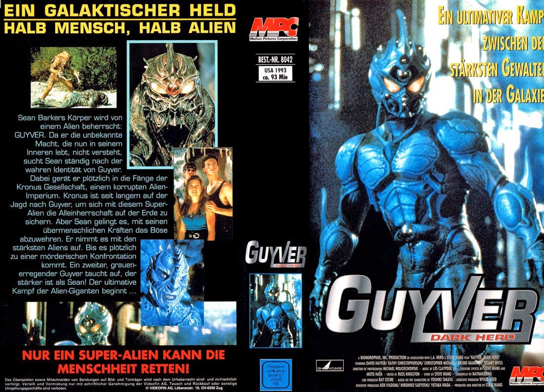 the guyver 2 dark hero full movie