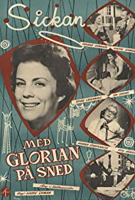 Sickan Carlsson in Med glorian på sned (1957)