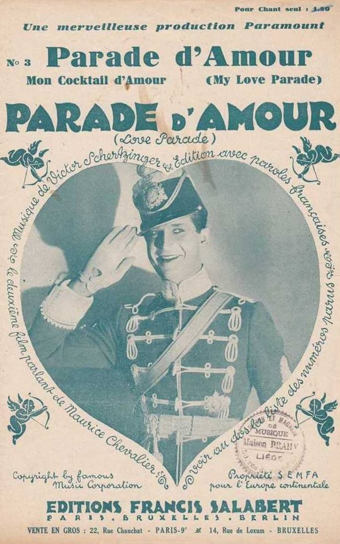 Maurice Chevalier in The Love Parade (1929)
