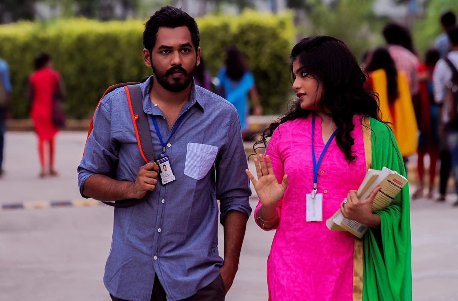 Hiphop Tamizha Adhi and Aathmika in Meesaya murukku (2017)