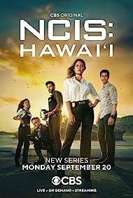Vanessa Lachey, Noah Mills, Yasmine Al-Bustami, and Alex Tarrant in NCIS: Hawai'i (2021)