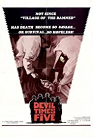 Devil Times Five (1974) Poster - Movie Forum, Cast, Reviews
