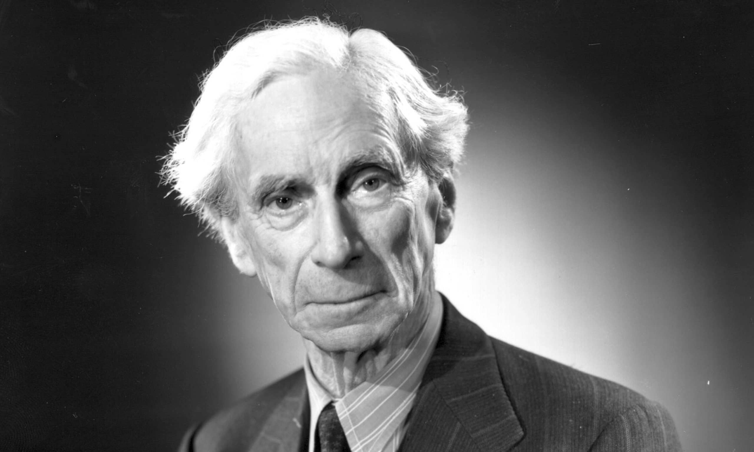 Bertrand Russell photo