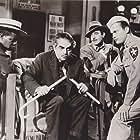 Louis Armstrong, Kurt Kasznar, Ralph Meeker, and Gilbert Roland in Glory Alley (1952)