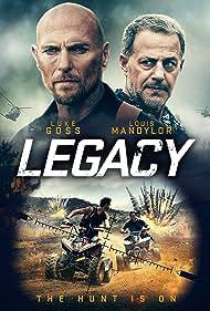 Luke Goss and Louis Mandylor in Legacy (2020)