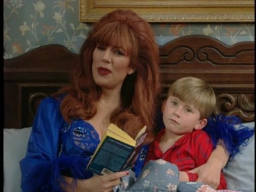 Katey Sagal and Shane Sweet in Married with Children (1987)
