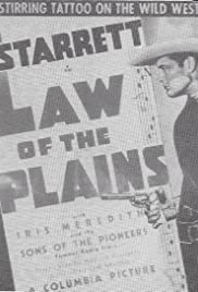 Law of the Plains Poster