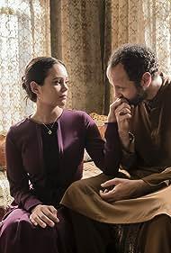 Ali Suliman and Dina Shihabi in Jack Ryan (2018)