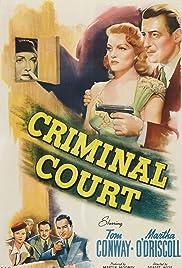 Criminal Court Poster