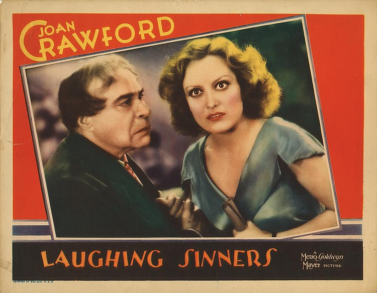 Joan Crawford and George F. Marion in Laughing Sinners (1931)
