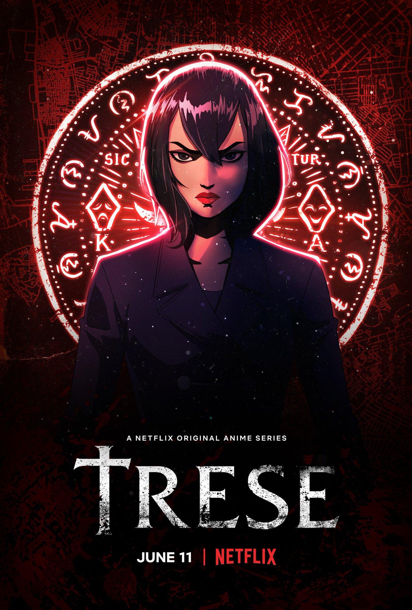 Trese (2021) English S01 Complete Netflix Original TV Series 500MB HDRip 480p