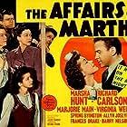 Richard Carlson, Marsha Hunt, Marjorie Main, and Virginia Weidler in The Affairs of Martha (1942)