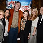 Stephen Fry, Harvey Weinstein, Holliday Grainger, MyAnna Buring, Alicia Vikander, and Lily James at an event for Escape from Planet Earth (2012)