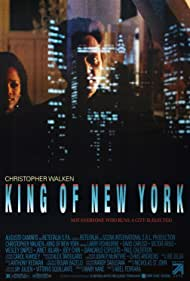 Christopher Walken and Theresa Randle in King of New York (1990)