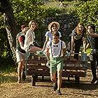 Georgina Amorós, Martina Stoessel, Ridder van Kooten, Francisco Viciana, Beatrice Arnera, and Leonardo Cecchi in Tini: El gran cambio de Violetta (2016)