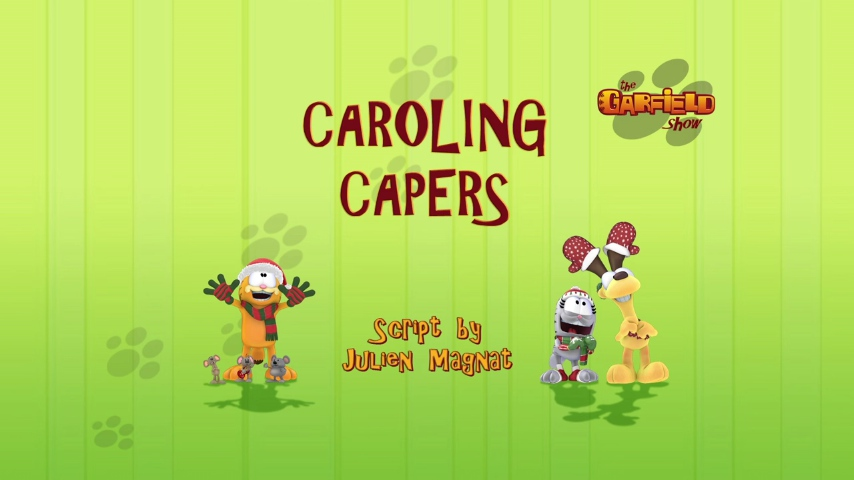 Caroling Capers From The Oven 2009